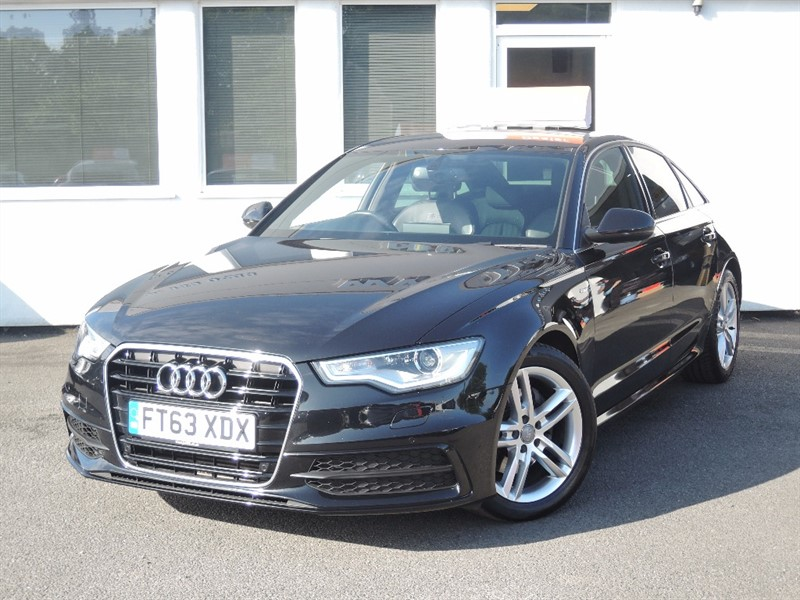 used Audi A6 TDI S LINE *Black Leather* in WIRRAL