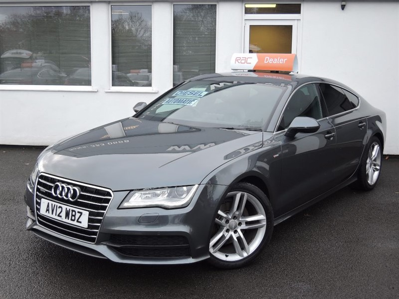 used Audi A7 TDI QUATTRO S LINE *SAT NAV+Privacy+FASH* in WIRRAL