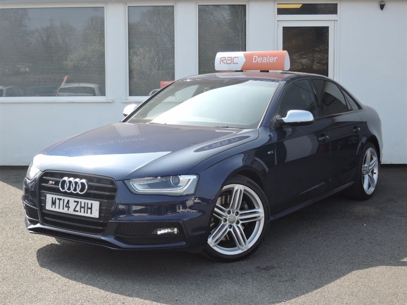 used Audi S4 S4 QUATTRO BLACK EDITION  in WIRRAL