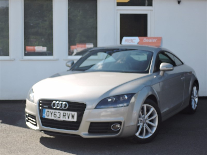 used Audi TT TDI SPORT in WIRRAL