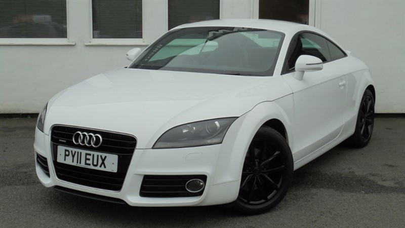 used Audi TT TDI QUATTRO SPORT *Black Alloys* in WIRRAL
