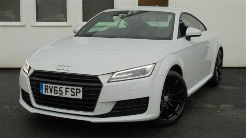 used Audi TT TDI ULTRA SPORT**1 Owner+Full Dealer History+Black Leather** in WIRRAL