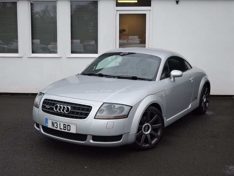 used Audi TT QUATTRO in WIRRAL