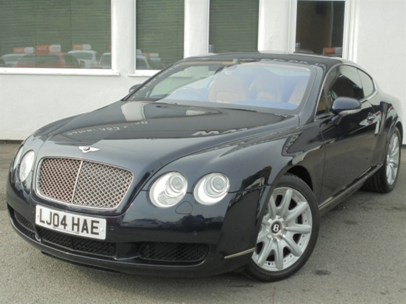 used Bentley Continental GT**3 owners + 8 Services** in WIRRAL