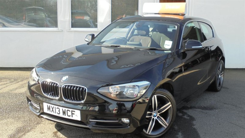 used BMW 114i SPORT in WIRRAL