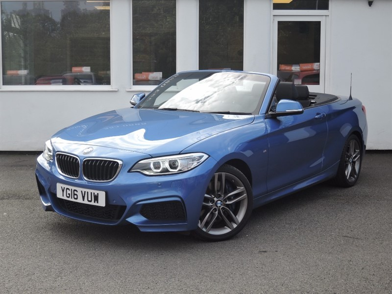 used BMW 218i 218I M SPORT *Sat Nav+Black Leather* in WIRRAL