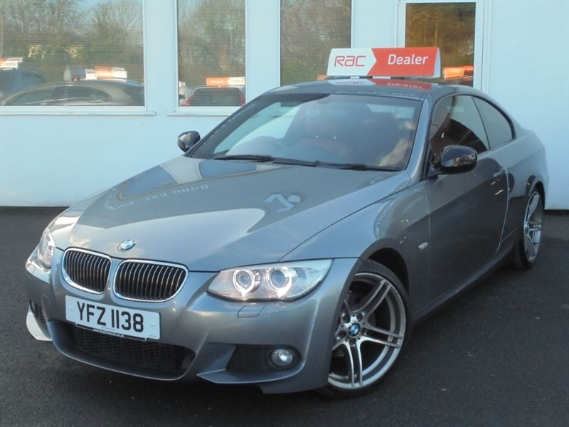 "used BMW 318i SPORT PLUS EDITION *Imola Red Leather+Sat Nav+19"" Alloys+Park Assist* in WIRRAL"
