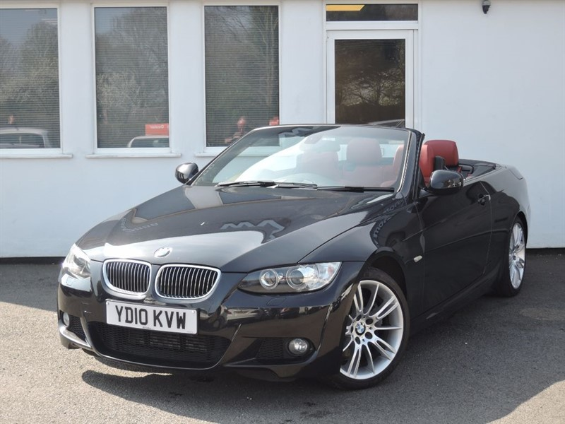 used BMW 325d M SPORT *Sat Nav+Heated Seats+Red Leather+Full BMW Service History* in WIRRAL