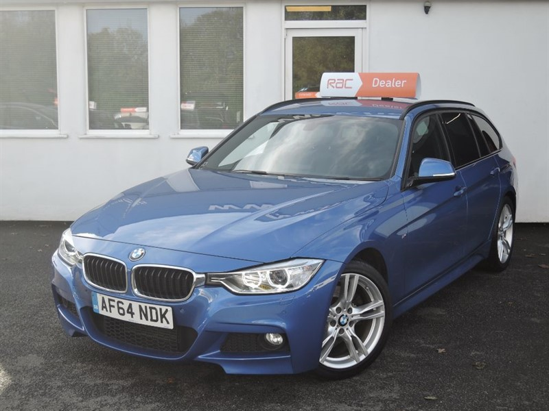 used BMW 330d 330D M SPORT TOURING Business Media*Nav+Privacy+DAB+Black Leather* in WIRRAL