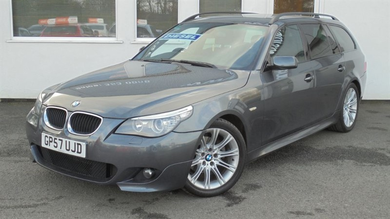 used BMW 520d M SPORT TOURING**Black Leather** in WIRRAL