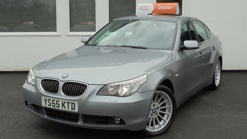 used BMW 530d SE *Black Leather+Sat Nav* in WIRRAL