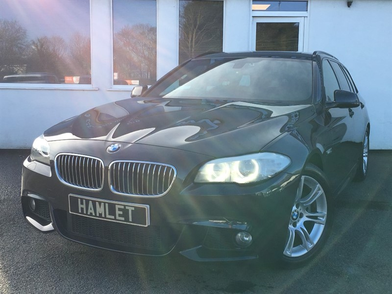 used BMW 520d M SPORT TOURING**Nav+Privacy+Leather+Full History** in WIRRAL