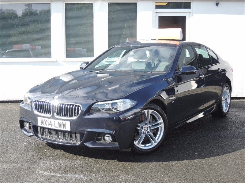 used BMW 525d M SPORT *BLUETOOTH * SAT NAV * LEATHER * in WIRRAL