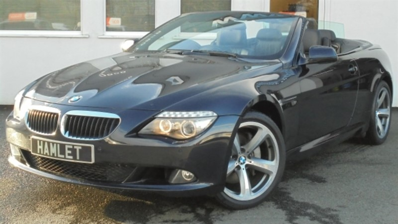 used BMW 635d SPORT **Black Leather+Sat Nav+Full History** in WIRRAL