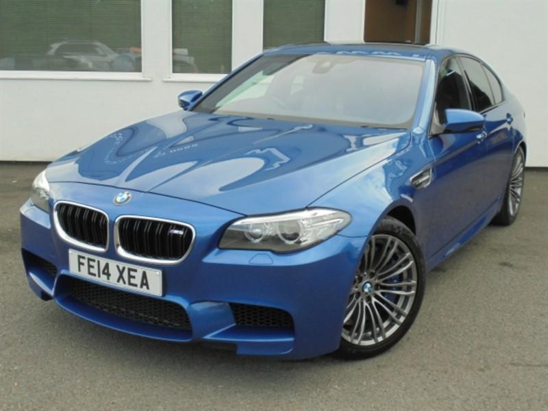 used BMW M5 **SATELLITE NAVIGATION + HARMON KARDON + SOFT-CLOSE DOORS** in WIRRAL
