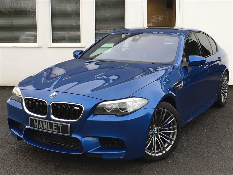 used BMW M5 **Sat Nav+Head Up Display+Sunroof+Full Dealer History** in WIRRAL
