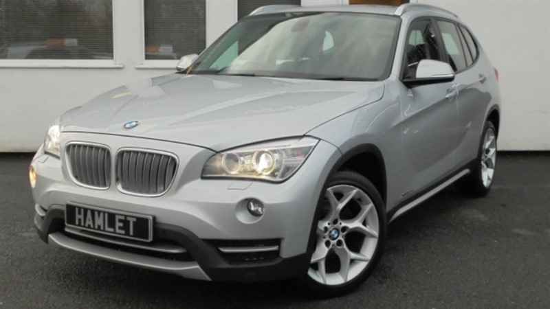 used BMW X1 XDRIVE20D XLINE**Panoramic Roof+Black Leather+Full History** in WIRRAL