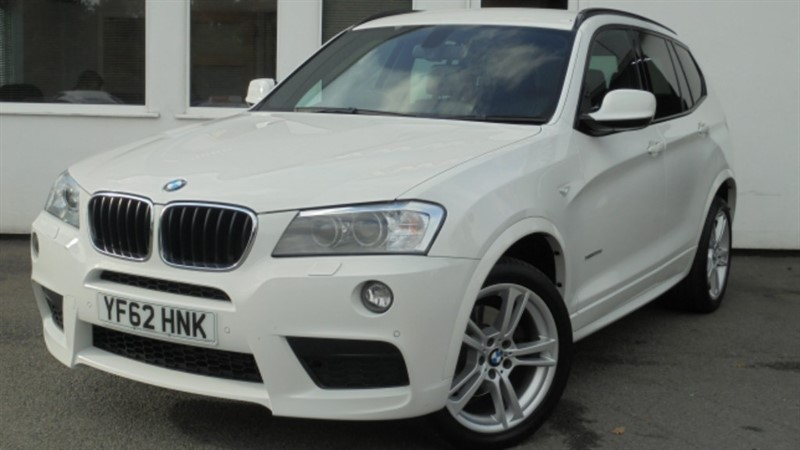 used BMW X3 XDRIVE20D M SPORT**Sat Nav+Leather+Privacy Glass** in WIRRAL