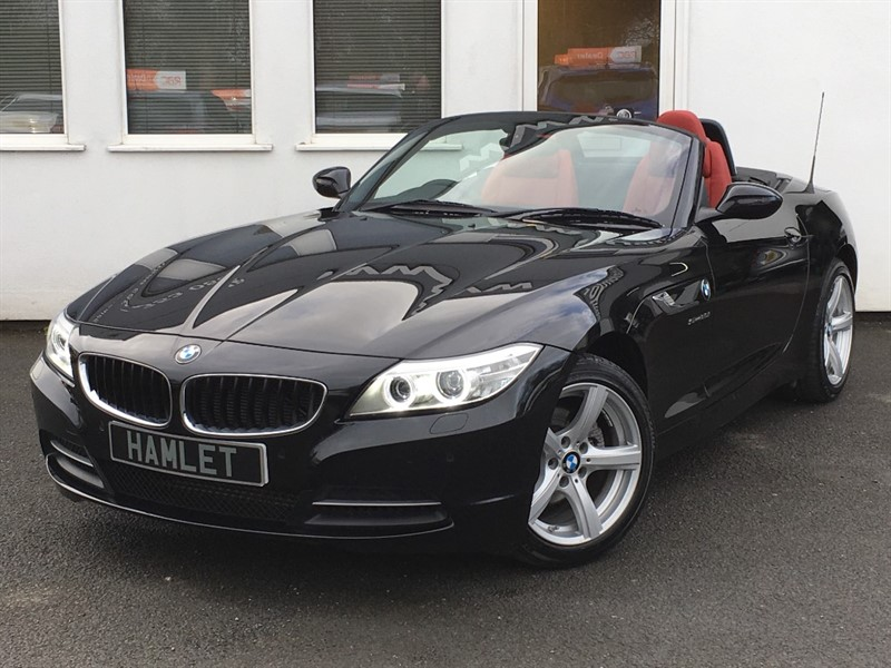used BMW Z4 SDrive2.0i Auto **Coral Red Leather + Full History + 1 Owner** in WIRRAL