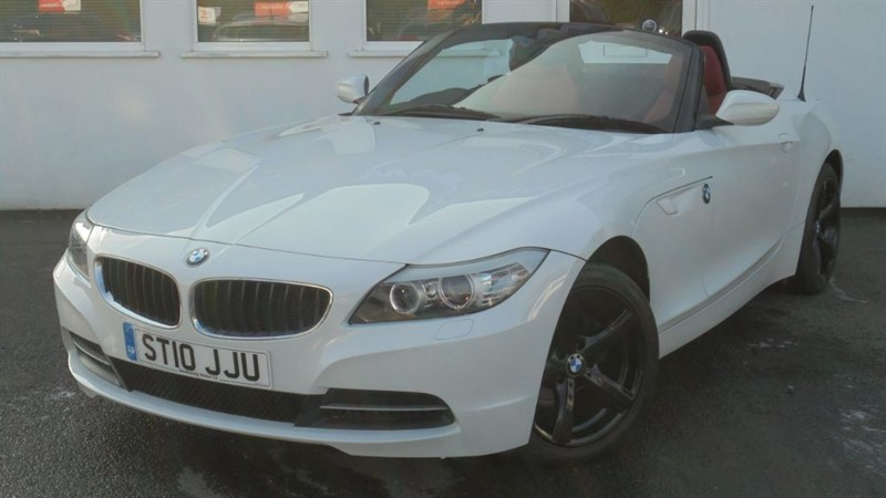 used BMW Z4 SDRIVE23I ROADSTER **IMOLA RED LEATHER*BLACK ALLOYS* in WIRRAL