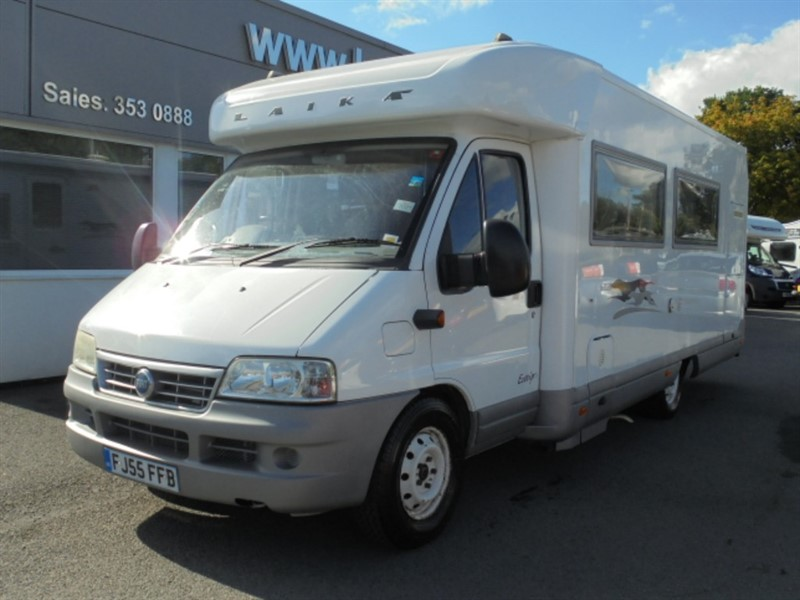 used Fiat Ducato Laika Ecovip 7.1g 2.8 litre Fixed Bed in WIRRAL