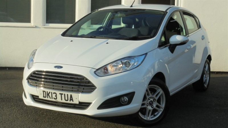 used Ford Fiesta ZETEC**Full History+A/C+Alloys** in WIRRAL