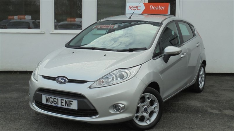 used Ford Fiesta ZETEC 16V **13,000 miles** in WIRRAL