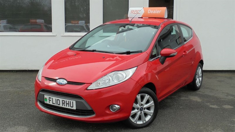 used Ford Fiesta ZETEC**Alloys + AC** in WIRRAL