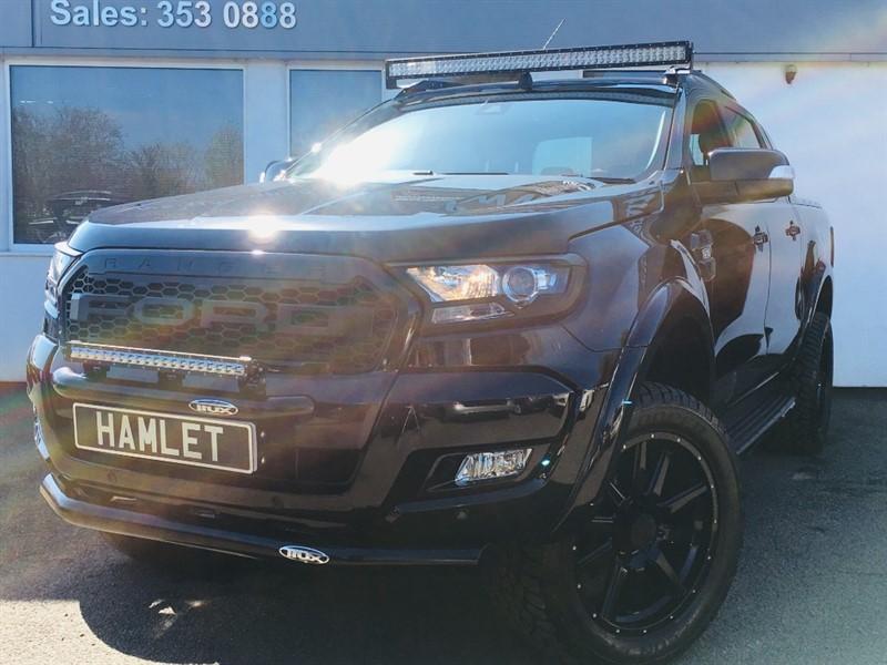 used Ford Ranger WILDTRAK 4X4 DCB TDCI**SMC HAWK EDITION MASSIVE SPEC** in WIRRAL