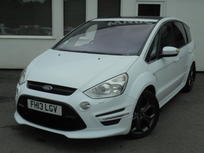 used Ford S-Max TITANIUM X SPORT TDCI**Pan Roof + Park Sensors** in WIRRAL