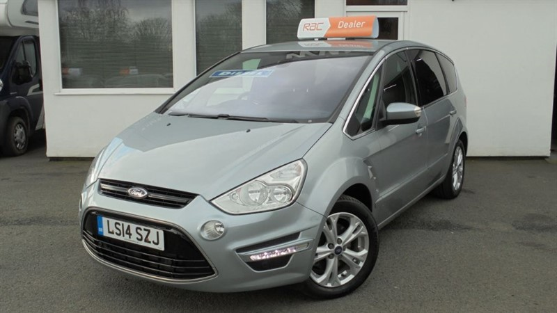 used Ford S-Max TITANIUM TDCI **1 owner + Full Dealer History** in WIRRAL