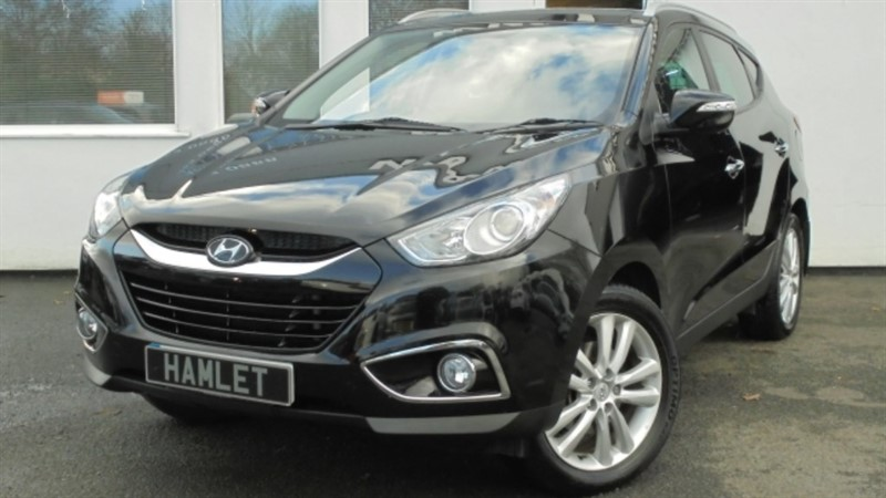used Hyundai ix35 CRDI PREMIUM**Sat Nav+Leather+Sunroof+Park Sensors** in WIRRAL