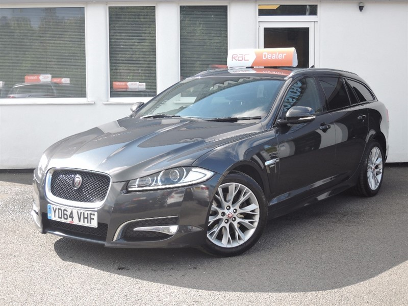 used Jaguar XF D R-SPORT SPORTBRAKE *Full Jaguar History-1 Owner* in WIRRAL