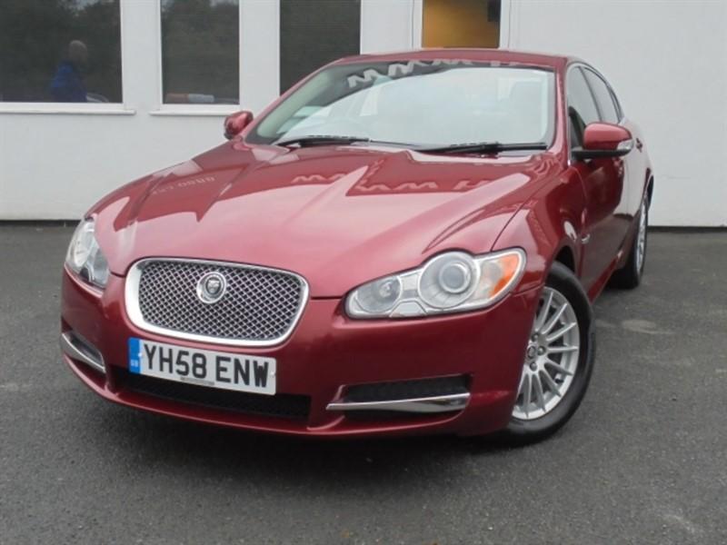 used Jaguar XF V6 LUXURY **Full Jaguar History+Touch screen Nav** in WIRRAL