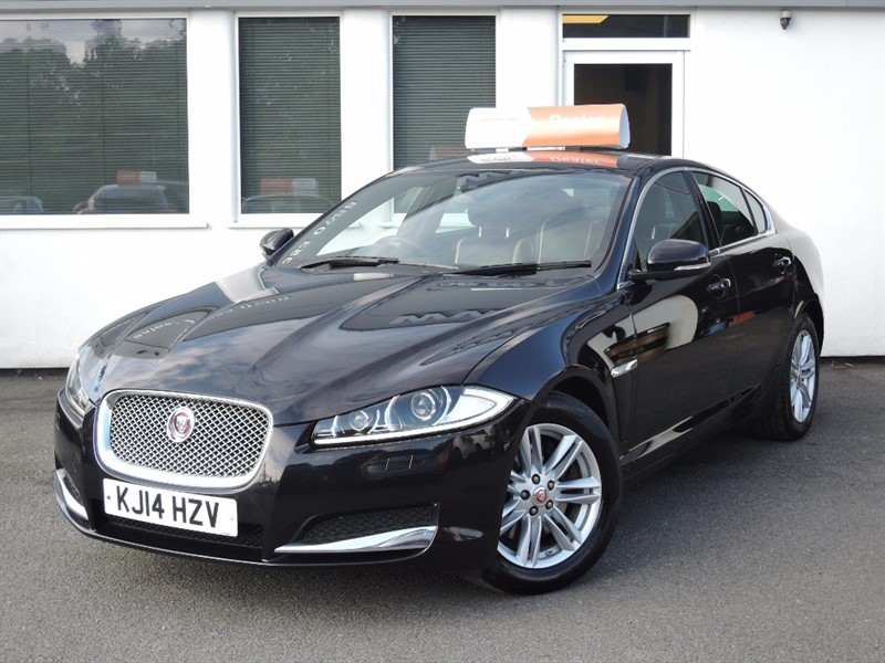 used Jaguar XF D PORTFOLIO in WIRRAL