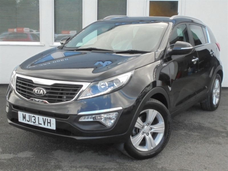 used Kia Sportage CRDI KX-2**Pan Roof + Full History** in WIRRAL
