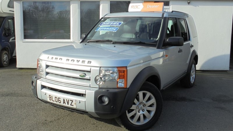 used Land Rover Discovery 3 TDV6 SE *Black Leather+Sat Nav+7 Seats* in WIRRAL