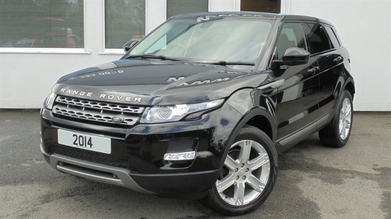 used Land Rover Range Rover Evoque ED4 PURE TECH *Sat Nav+Privacy+Panoramic Sunroof* in WIRRAL
