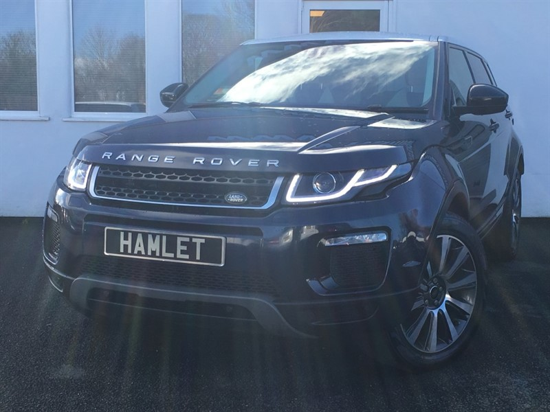 used Land Rover Range Rover Evoque TD4 SE TECH *Pan Roof+1 Owner+FLRSH* in WIRRAL