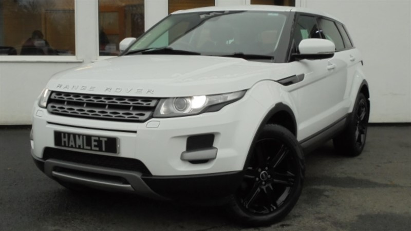 used Land Rover Range Rover Evoque SD4 PURE TECH**Sat Nav+Black Alloys+Full History** in WIRRAL