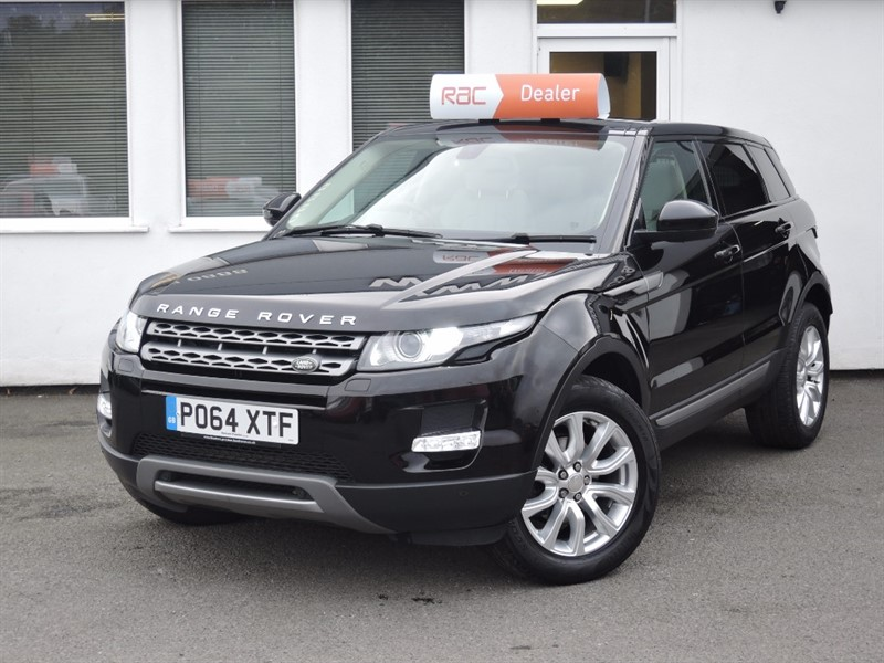 used Land Rover Range Rover Evoque SD4 PURE TECH *Panoramic Roof+Ivory Leather+Tech Pack in WIRRAL