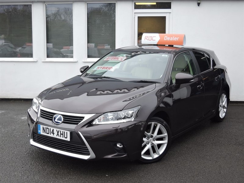 used Lexus CT 200h PREMIER *Ivory Leather* in WIRRAL