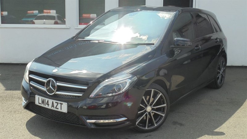 used Mercedes B180 CDI BLUEEFFICIENCY SPORT**Privacy Glass+Leather** in WIRRAL