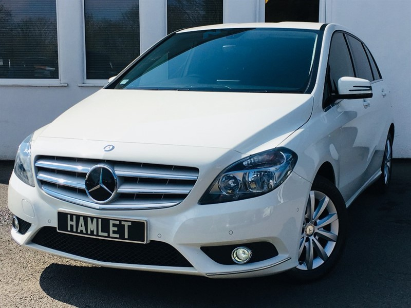 used Mercedes B180 BLUEEFFICIENCY SE *Privacy+Front&Rear Park Assist+Nav Prep* in WIRRAL