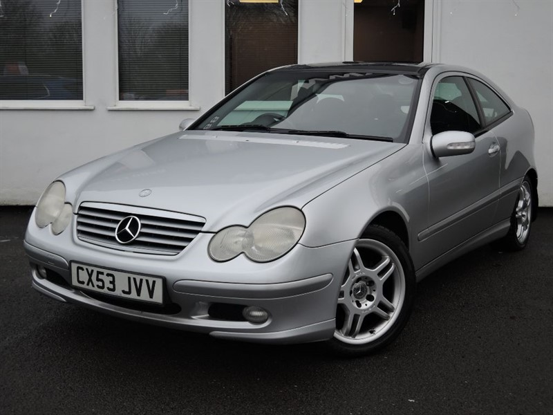 used Mercedes C200 KOMPRESSOR SE *PANORAMIC ROOF* in WIRRAL