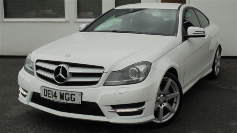 used Mercedes C180 AMG SPORT EDITION**Full Dealer History** in WIRRAL
