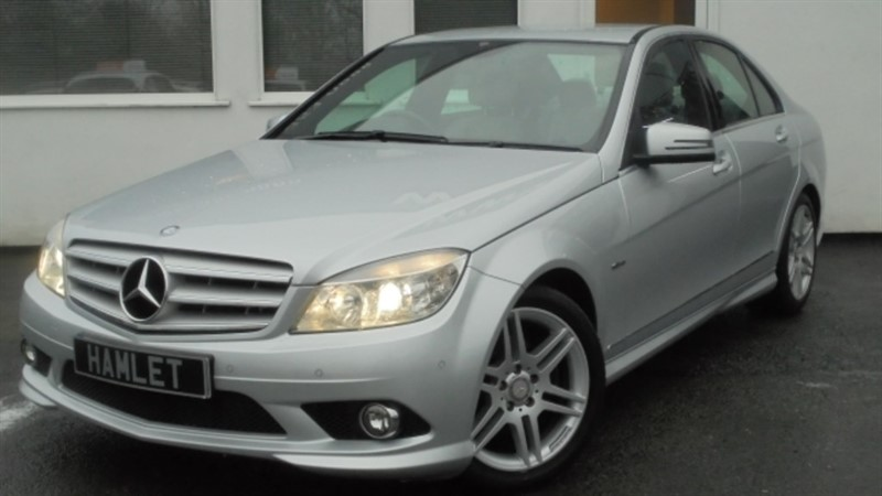 used Mercedes C250 CDI BLUEEFFICIENCY SPORT**FULL DEALER HISTORY** in WIRRAL
