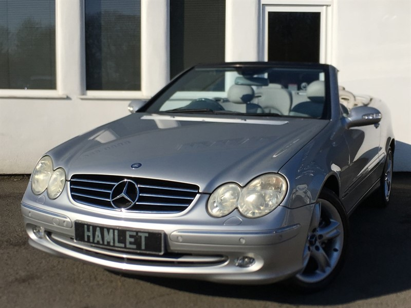 used Mercedes CLK240 AVANTGARDE in WIRRAL