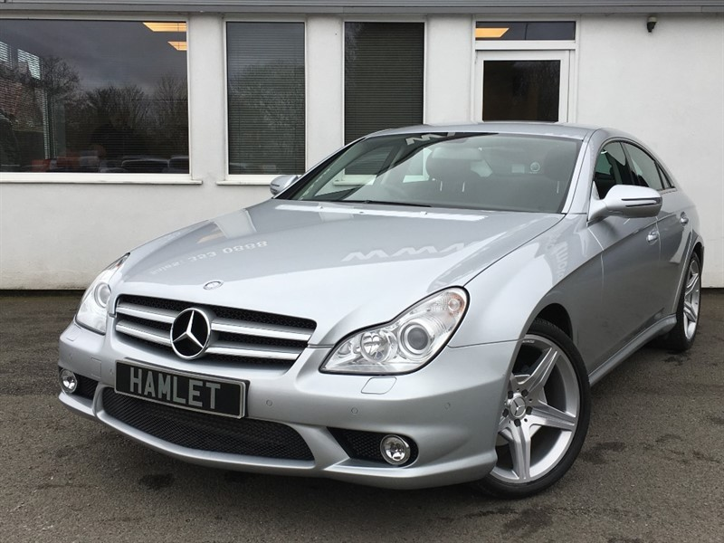 used Mercedes CLS320 CDI CLS320 CDI **AMG Bodystyling+Black Leather+Command Sat Nav** in WIRRAL
