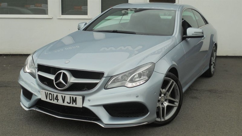 used Mercedes E220 CDI AMG SPORT**Sat Nav + Full HIstory** in WIRRAL